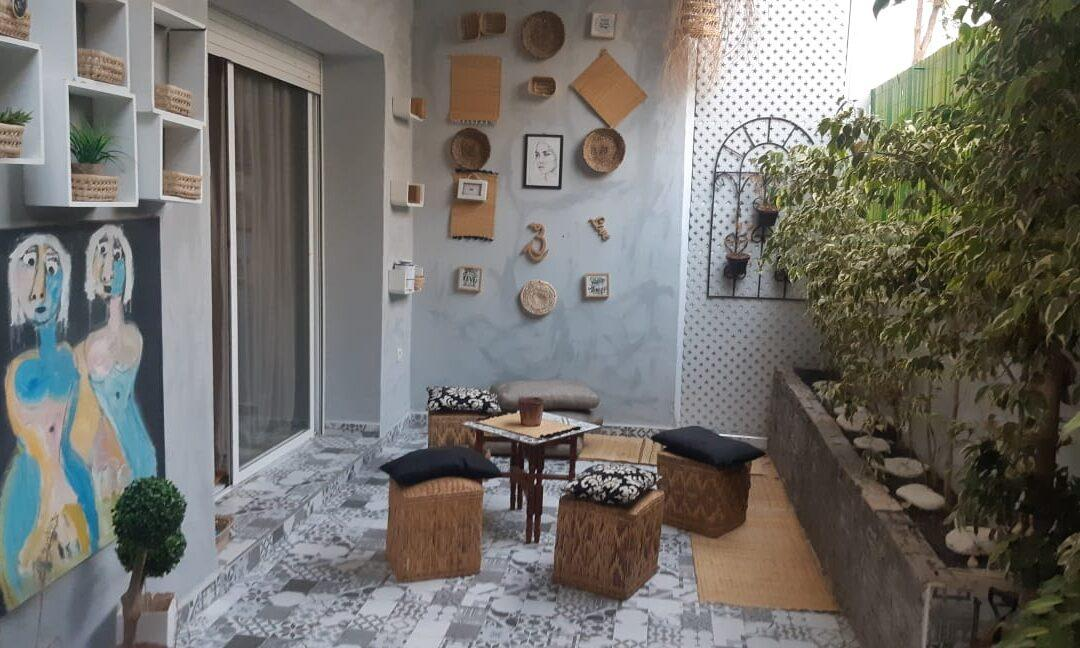 Coquet appartement aux Jardins du Souss à Agadir